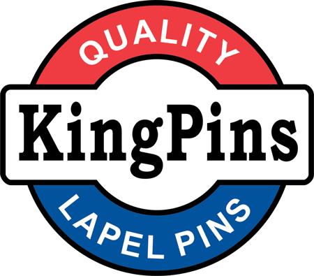 KingPins Custom Designed Service: Badges, Coins, Lapel Pins
